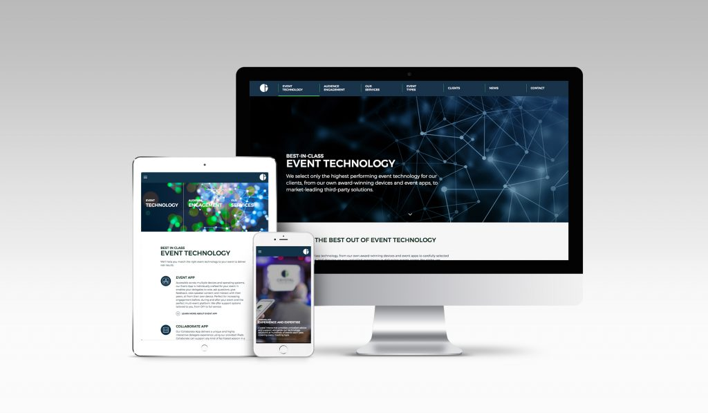 Crystal Interactive fully responsive website
